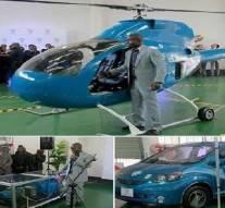 Un inventeur du Zimbabwe dévoile ses incroyables nouveaux prototypes
