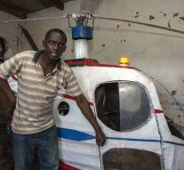 Malawi : Depuis son garage,  un amateur fabrique un hélicoptère