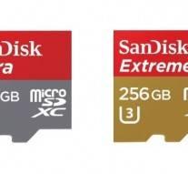 SanDisk va bientôt mettre sur le marché la carte mémoire microSD 256 Go la plus rapide au monde
