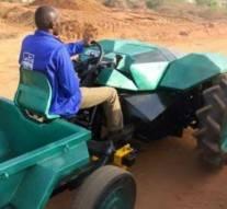 Ijodo, ce tracteur bon marché fabriqué au Nigeria